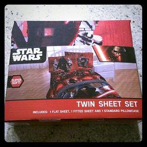 New Star Wars Twin Sheet Set